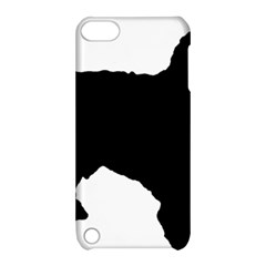 Spanish Water Dog Silhouette Apple iPod Touch 5 Hardshell Case with Stand