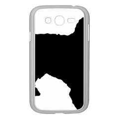 Spanish Water Dog Silhouette Samsung Galaxy Grand DUOS I9082 Case (White)