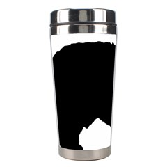Spanish Water Dog Silhouette Stainless Steel Travel Tumblers
