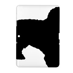 Spanish Water Dog Silhouette Samsung Galaxy Tab 2 (10.1 ) P5100 Hardshell Case