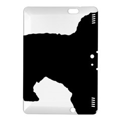 Spanish Water Dog Silhouette Kindle Fire HDX 8.9  Hardshell Case