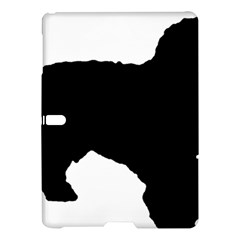 Spanish Water Dog Silhouette Samsung Galaxy Tab S (10.5 ) Hardshell Case