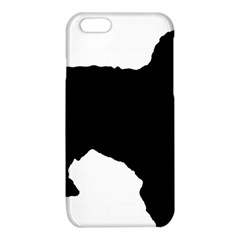 Spanish Water Dog Silhouette iPhone 6/6S TPU Case
