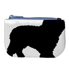 Spanish Water Dog Silhouette Large Coin Purse