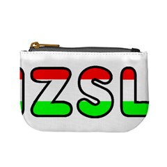 Hungary Flag In Vizsla Name Mini Coin Purses