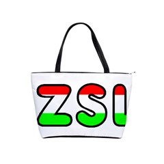 Hungary Flag In Vizsla Name Shoulder Handbags