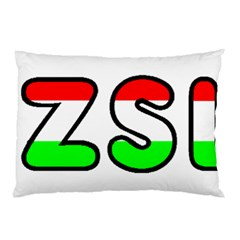 Hungary Flag In Vizsla Name Pillow Case (Two Sides)