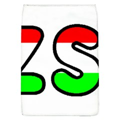 Hungary Flag In Vizsla Name Flap Covers (L)