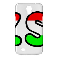 Hungary Flag In Vizsla Name Samsung Galaxy Mega 6.3  I9200 Hardshell Case