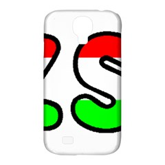 Hungary Flag In Vizsla Name Samsung Galaxy S4 Classic Hardshell Case (PC+Silicone)