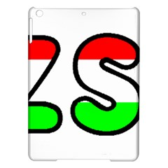 Hungary Flag In Vizsla Name iPad Air Hardshell Cases