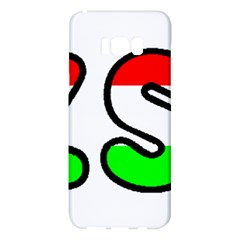 Hungary Flag In Vizsla Name Samsung Galaxy S8 Plus Hardshell Case