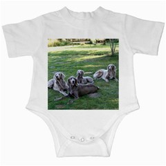 Longhair Weims Infant Creepers