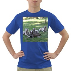 Longhair Weims Dark T-Shirt