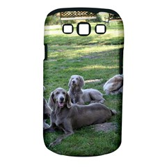 Longhair Weims Samsung Galaxy S III Classic Hardshell Case (PC+Silicone)