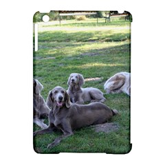 Longhair Weims Apple iPad Mini Hardshell Case (Compatible with Smart Cover)