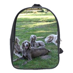 Longhair Weims School Bags (XL)