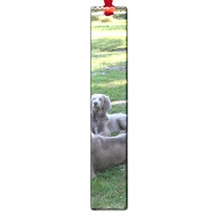 Longhair Weims Large Book Marks