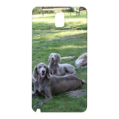 Longhair Weims Samsung Galaxy Note 3 N9005 Hardshell Back Case