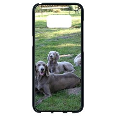 Longhair Weims Samsung Galaxy S8 Black Seamless Case