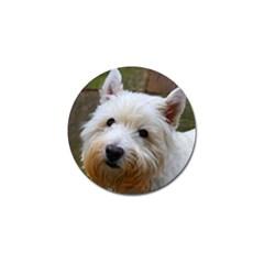 West Highland White Terrier Golf Ball Marker (4 pack)