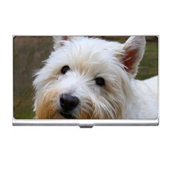 West Highland White Terrier Business Card Holders