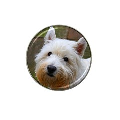 West Highland White Terrier Hat Clip Ball Marker (4 pack)