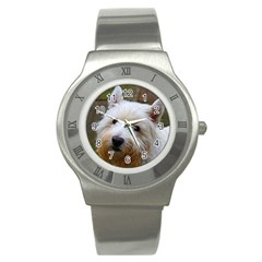 West Highland White Terrier Stainless Steel Watch