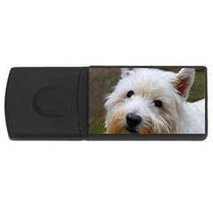 West Highland White Terrier USB Flash Drive Rectangular (4 GB)
