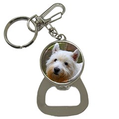 West Highland White Terrier Button Necklaces