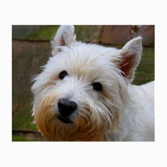 West Highland White Terrier Small Glasses Cloth (2-Side)