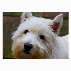 West Highland White Terrier Large Glasses Cloth