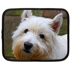 West Highland White Terrier Netbook Case (Large)