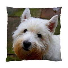 West Highland White Terrier Standard Cushion Case (One Side)
