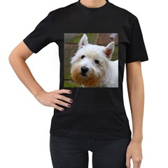 West Highland White Terrier Women s T-Shirt (Black)