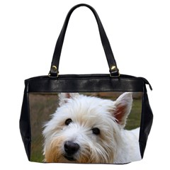 West Highland White Terrier Office Handbags (2 Sides)