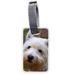 West Highland White Terrier Luggage Tags (One Side)