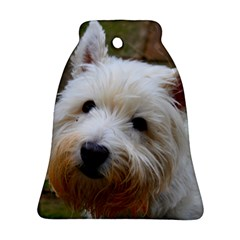West Highland White Terrier Bell Ornament (Two Sides)