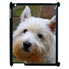 West Highland White Terrier Apple iPad 2 Case (Black)