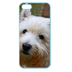 West Highland White Terrier Apple Seamless iPhone 5 Case (Color)