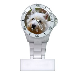 West Highland White Terrier Plastic Nurses Watch