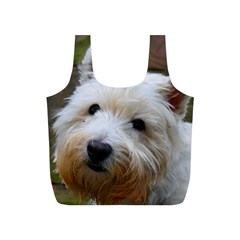 West Highland White Terrier Full Print Recycle Bags (S)
