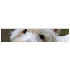 West Highland White Terrier Flano Scarf (Small)