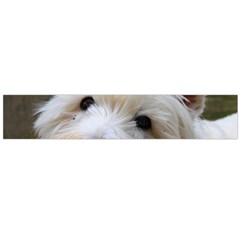 West Highland White Terrier Flano Scarf (Large)
