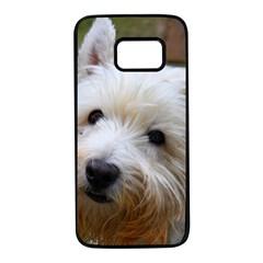 West Highland White Terrier Samsung Galaxy S7 Black Seamless Case