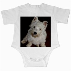 West highland white terrier puppy Infant Creepers