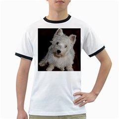 West highland white terrier puppy Ringer T-Shirts