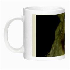 West highland white terrier puppy Night Luminous Mugs