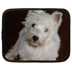 West highland white terrier puppy Netbook Case (Large)