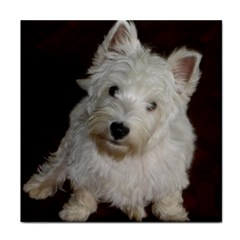 West highland white terrier puppy Face Towel